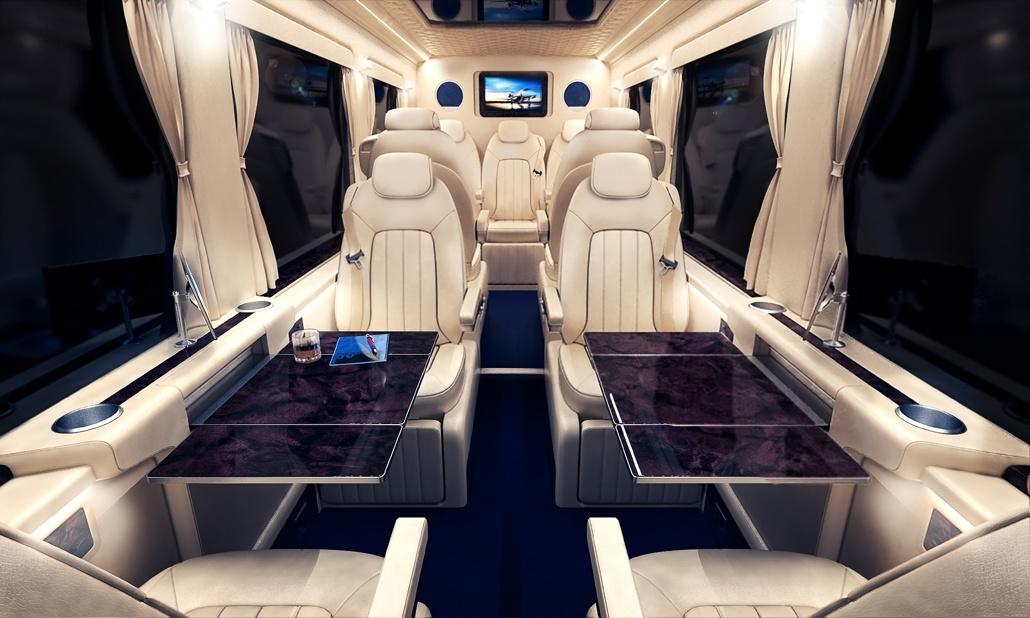 Specification A Mercedes Sprinter Conversion
